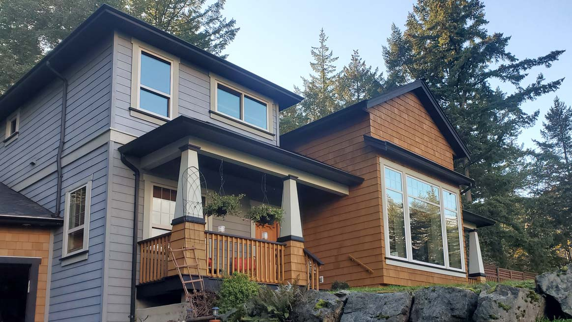 Character home window and gutter cleaning services in Victoria BC